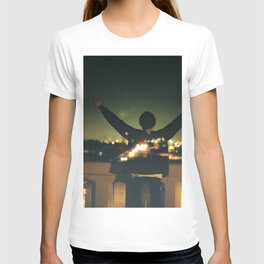 Double Exposure Freedom! T-shirt