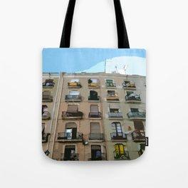 Barcelona Building  Tote Bag