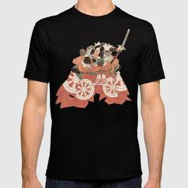Warrior with Sword - Actor Portrait Vintage Japanese Art T-shirt