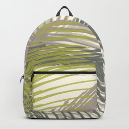 Palm Silhouette Series - Neutral Summer Palette Backpack