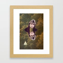 If You Were A Lady Of The 80s You'd Be His Baby Framed Art Print