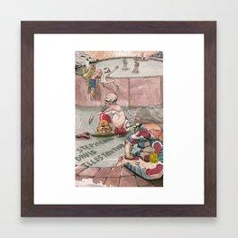 Bath House 1 Framed Art Print