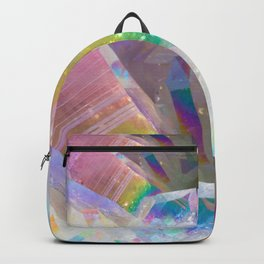 Opal Aura Quartz Crystal 1 Backpack