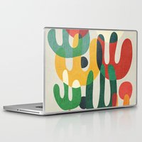 cactus Laptop & iPad Skins featuring Cactus by Picomodi