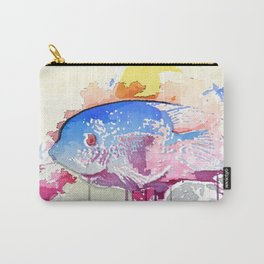 Albert The Existential Fish Carry-All Pouch