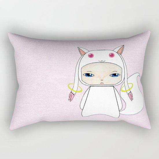 A Boy - Kyubey Rectangular Pillow