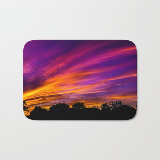 Autumn On Fire Bath Mat