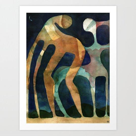 Titans (US AND THEM) Art Print