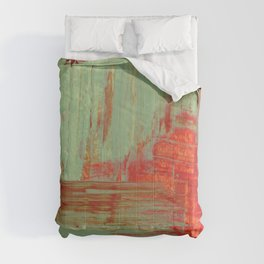 Green and Red Comforters