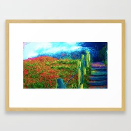 Sutro Heights Park, San Francisco, CA Framed Art Print