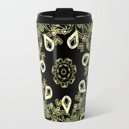 Celtic Star Pattern Travel Mug