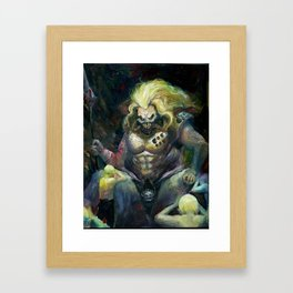 IMMORTAN JOE Framed Art Print