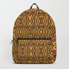 Aztec Collection: Tiger Stripes Backpack