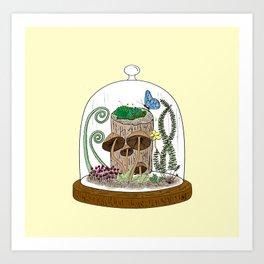 The jar of small things Art Print