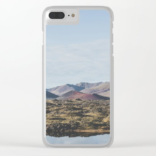 Borgarnes, Iceland Clear iPhone Case