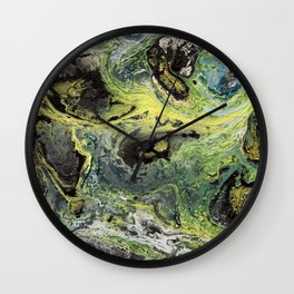 Real Silicone Colors Wall Clock