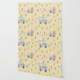 Ice Cream Trucks and Treats Wallpaper
