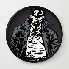 Brooding Wall Clock