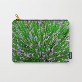 Lavender Close Up Carry-All Pouch