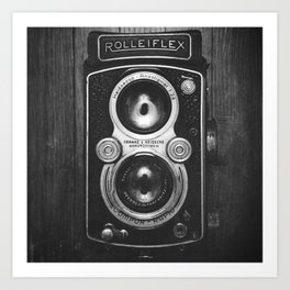 The King of Cameras - The Rolleiflex Art Print