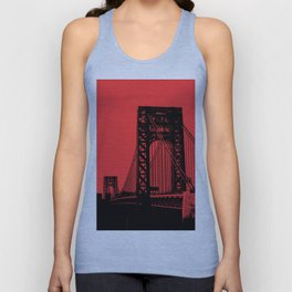 George Washington Bridge Unisex Tank Top