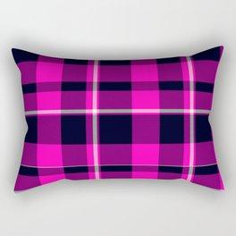 The Fushcia Matrix Rectangular Pillow