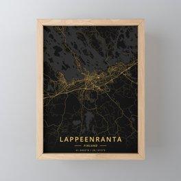 Lappeenranta, Finland - Gold Framed Mini Art Print