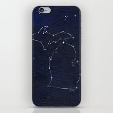 Mitten State Constellation iPhone & iPod Skin