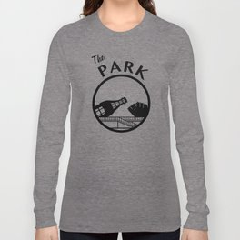 The Park (Black) Long Sleeve T-shirt