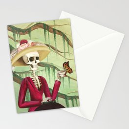 Jane Austen La Catrina Stationery Cards