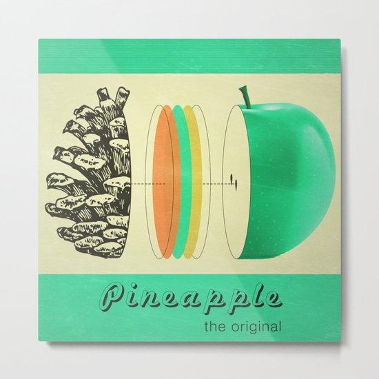 pineapple, the original Metal Print