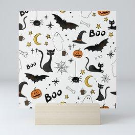 Cute Halloween Mini Art Print
