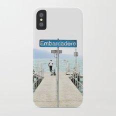 Embarcadère du Léman Slim Case iPhone X