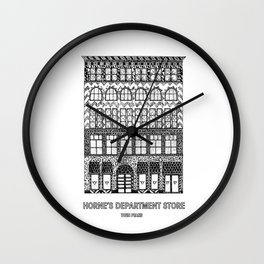 Twin Peaks - Horne's Department Store Wall Clock