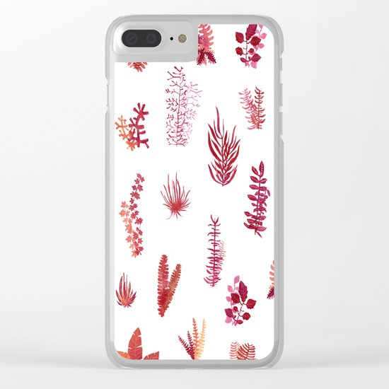 burning garden Clear iPhone Case