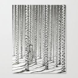 Concealment Canvas Print