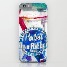Pabst Blue Ribbon Beer iPhone 6s Slim Case