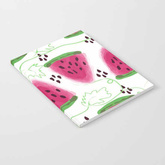 Watermelon pattern. Notebook
