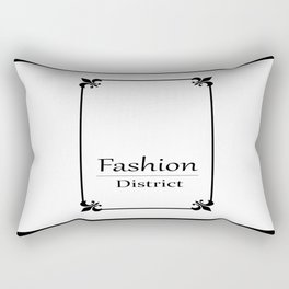 Fashion City: Fashion District Rectangular Pillow
