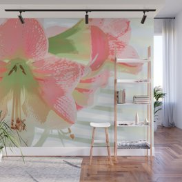 Delectable in Pink Wall Mural