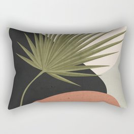 Tropical Leaf- Abstract Art 5 Rectangular Pillow