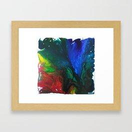 Rainbow Juxtaposition Framed Art Print