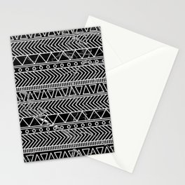 tribal marble Stationery Cards