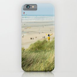 Moment of the beach iPhone Case