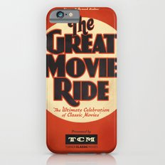 Great Movie Ride TCM Poster iPhone 6s Slim Case