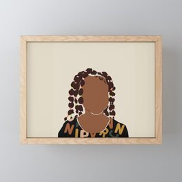 Black Girl Magic No. 1 Framed Mini Art Print