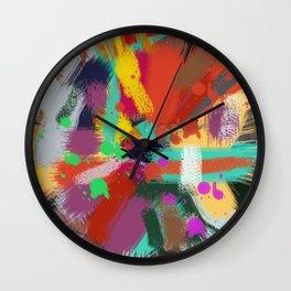 Color clock Wall Clock