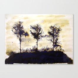 Dean Clough Three (T-h-ree-s) Canvas Print