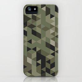 Isometric Camo iPhone Case