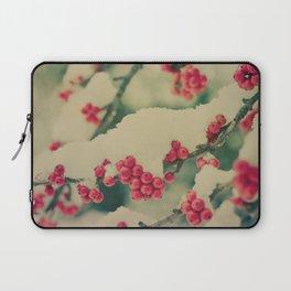 Winter Berry Laptop Sleeve